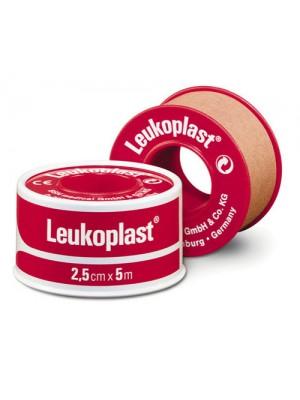 לויקופלסט פלסטר כותנה רפואי בצבע חום