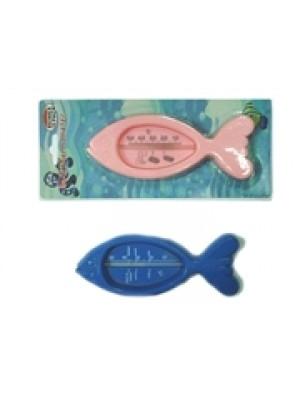 מד חום לאמבטיה (פלסטיק) בצורת דג
