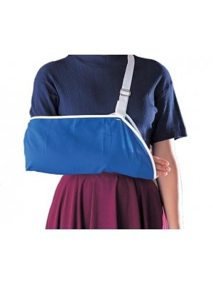 מתלה ליד זרוע במקרים של כתף לאחר פריקה או לאחר ניתוח או שבר ביד