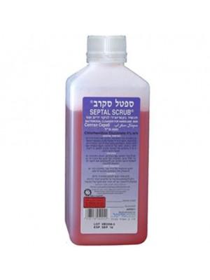 ספטל סקרב סבון אנטיספטי לחיטוי הידיים | משאבה | מעמד תליה ספטל סקראב