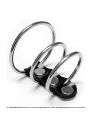 טבעת משולשת עשויה מברזל