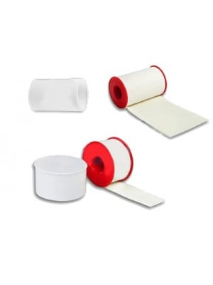 פלסטר בד בצבע לבן עם צינק מפלסטיק | פלסטר בד לחבישה במגוון גדלים