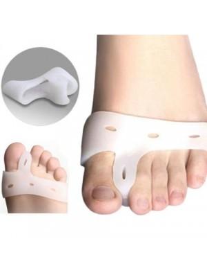 מפריד אצבעות הרגליים מסיליקון