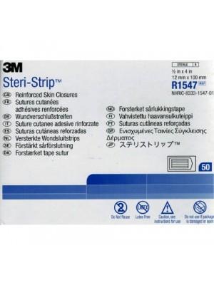 פלסטריות דביקות לאיחוי חתכים | סטרי סטריפ כחול 3M