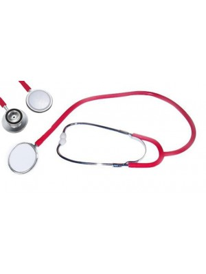 סטטוסקופ רופא בצבע אדום