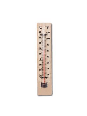 מד חום לחדר תינוק עשוי עץ | מד טמפרטורה