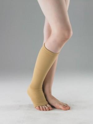 גרביים אלסטיות מתחת לברך אצבעות פתוחות לחץ בינוני
