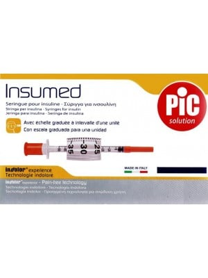 מזרק אינסולין | 10 מזרקים של אינסולין 0.5 0.3