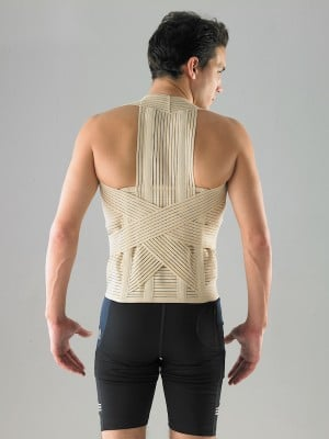 רצועות תמיכה לגב מלא עם מתיחה
