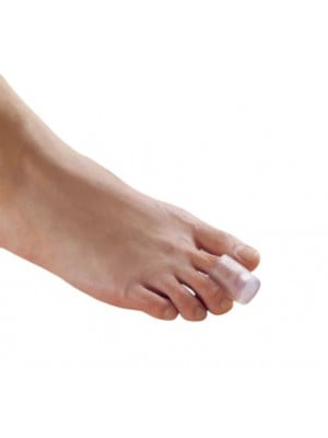 מגן כיסוי מסיליקון לאצבע בכף הרגל
