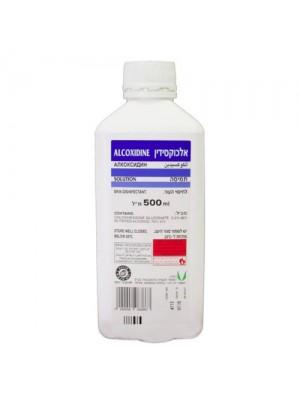 כלורהקסידין|אלכוקסידין|אלכוספט|תמיסה לחיטוי ידיים|אלכוהול של בתי חולים